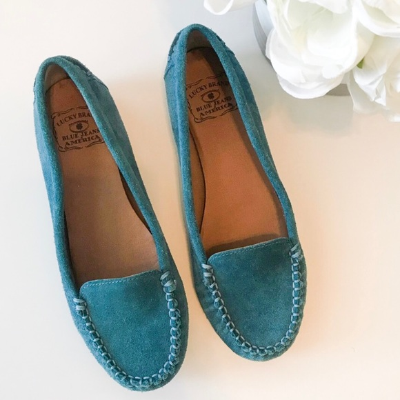 1225a72e2cb Lucky Brand Blue Loafers
